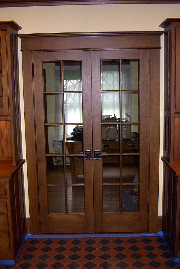 Furniture: Marvelous Modern Style Wooden Door Craftsman Style ...