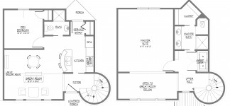 403 forbidden for 2 story house plans with curved staircase