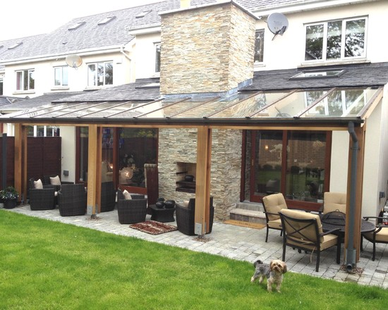 House Backyard Extension : Cozy House Backyard Extension Design Ideas Complete Natural Addition
