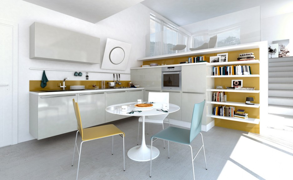 Fancy Modern Kitchen Design Kitchen Design Round Berikut Ini