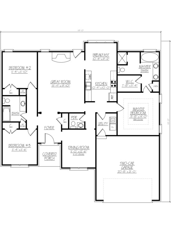 Interior design ideas architecture blog modern design for Small house plans with 2 car garage
