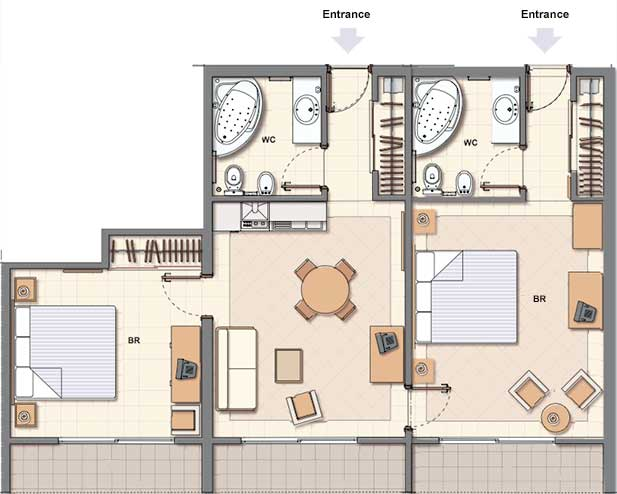 403 forbidden Master bedroom bathroom layout