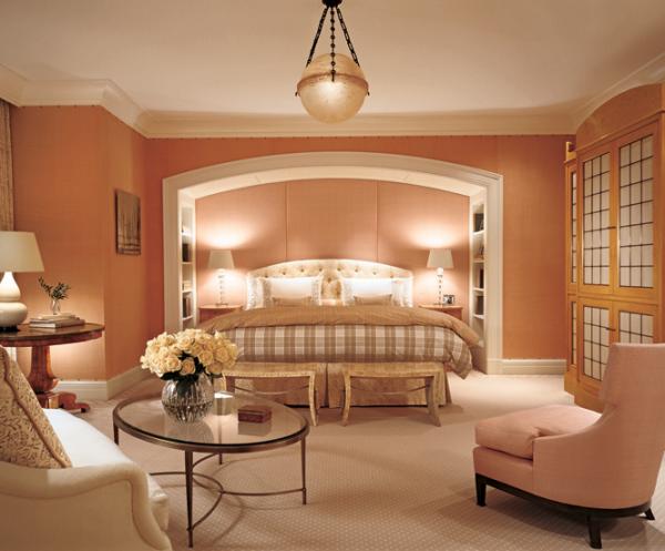 Bedroom: Marvelous Modern Style Pink White Bedroom Design Ideas ...