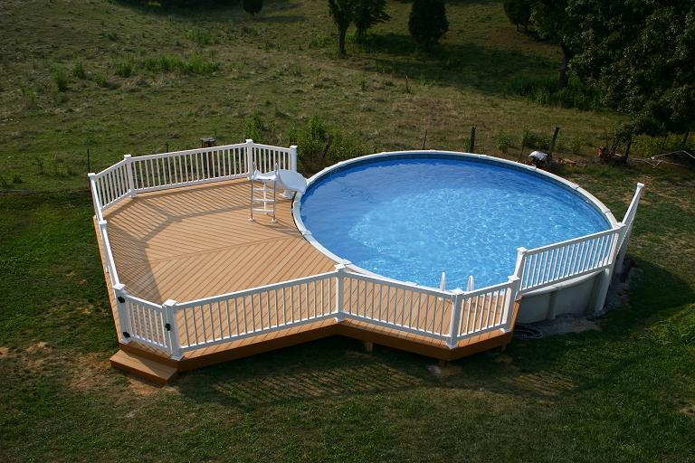403 forbidden for Above ground oval pool deck plans
