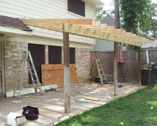 Wood Patio Cover Design Ideas