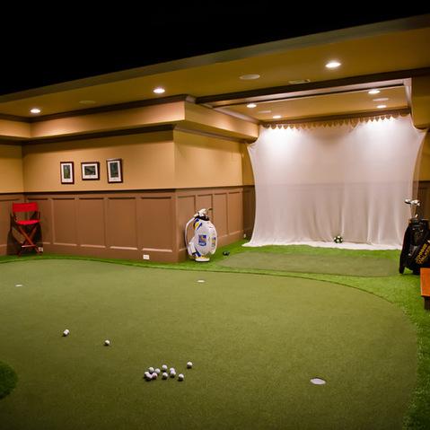 Interior design ideas architecture blog modern design for Indoor golf design