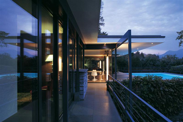 Interior design ideas architecture blog modern design for Glass house luxury villa