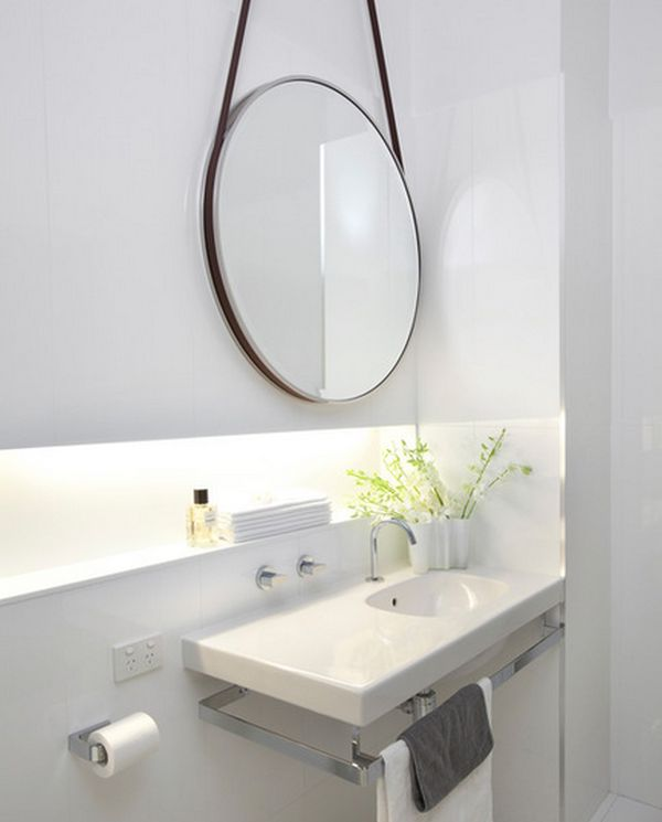 sink designs for small bathrooms amazing bathroom round mirror