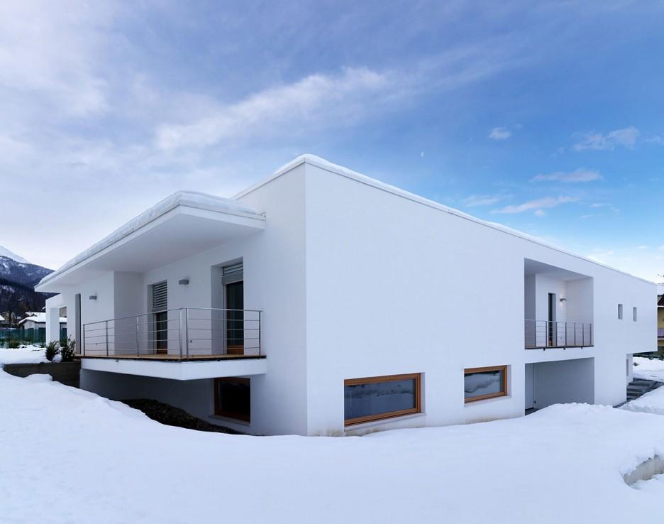 Interior design ideas architecture blog modern design - Residence horizontal space damilano studio ...