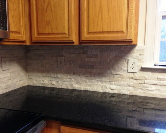 Interior Design Ideas, Architecture Blog & Modern Design ... on Backsplash For Black Granite  id=36725